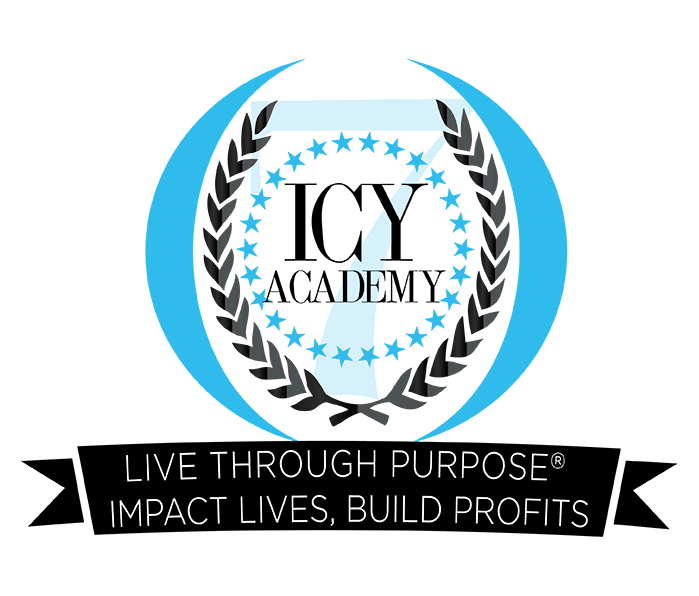 ICY ACADEMY by Yetunde Shorters- Live Through Purpose® Logo